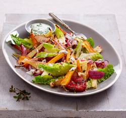 Frisk salat-matfoto