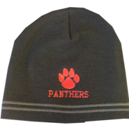 Panthers Black Beanie