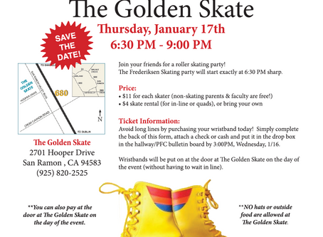 Frederiksen Night at Golden Skate