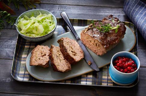 Kjøttpudding-Kålstuing-matfoto