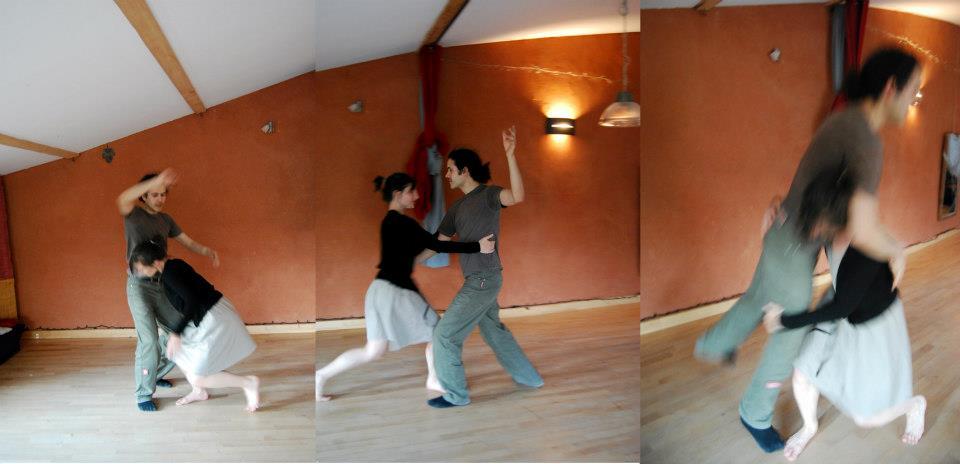 Lutte dansée