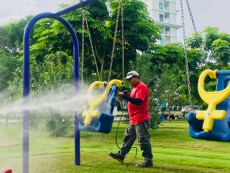 Paisajismo para parques infantiles Panama