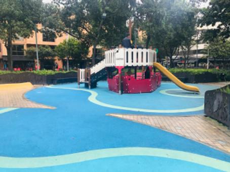 Superficies de Parques Infantiles