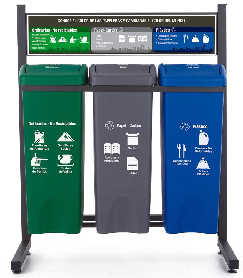 Basureros de reciclaje panama