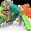 Thumbnail: Parque Infantil Modelo #350-1733 de PLAYWORLD