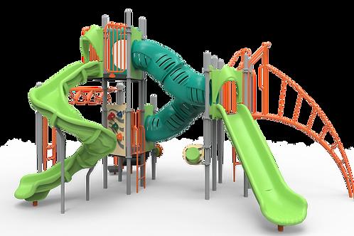 Parque Infantil Modelo #350-1733 de PLAYWORLD