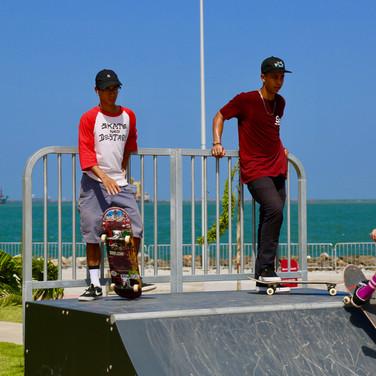 Skatepark en Paseo Marino Colon