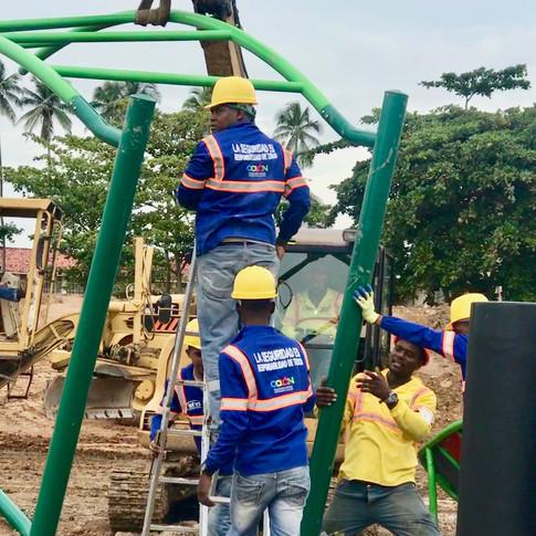 instalacion de parques infantiles colon
