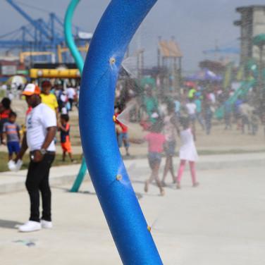 Splash Pad Paseo Marino Colon, Panama