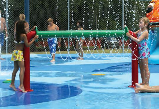 Proveedores de equipos para parques acuaticos y splash pads