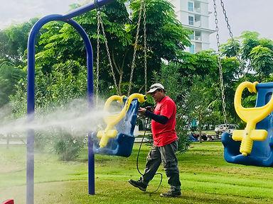 mantenimiento de parques infantiles biaj