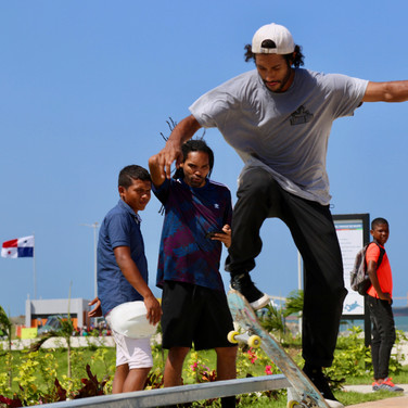 Skatepark modular Paseo Marino Colon