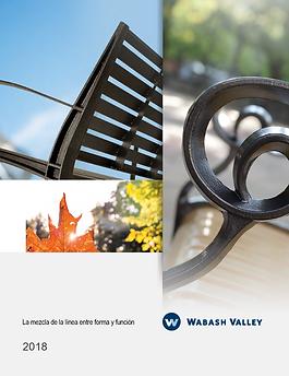 wabash valley catalogo de mobiliario urb