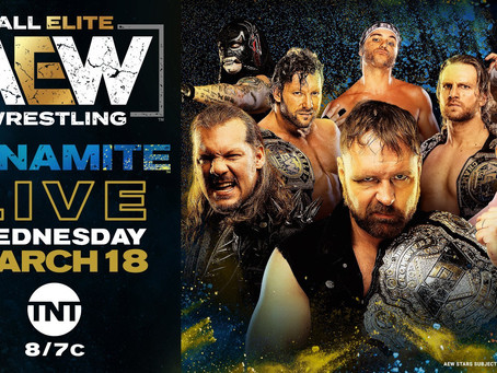AEW DYNAMITE Preview for March 18th