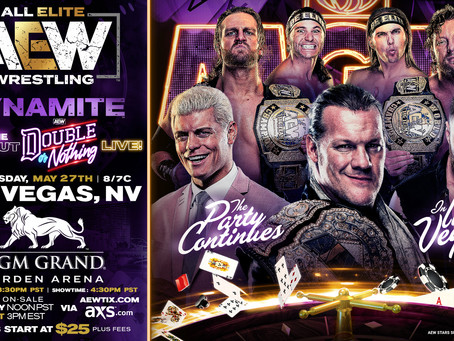 AEW DYNAMITE After Double or Nothing Set For MGM Grand In Las Vegas
