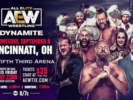 AEW Dynamite Coming To Cincinnati This September