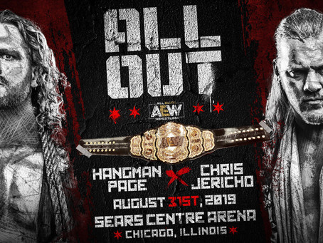 Hangman Page vs. Chris Jericho For The AEW World Championship Officially Set For All Out