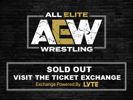 All Out Sold Out In 15 Minutes! Visit The Ticket Exchange Powered By Lyte