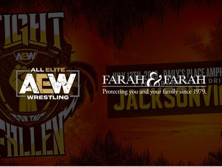 Farah & Farah Announced As Presenting Sponsor For Fight For The Fallen