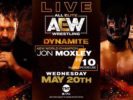 AEW DYNAMITE Preview for May 20, 2020