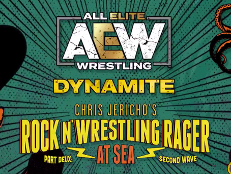 AEW DYNAMITE Rock N Wrestling Rager Highlights