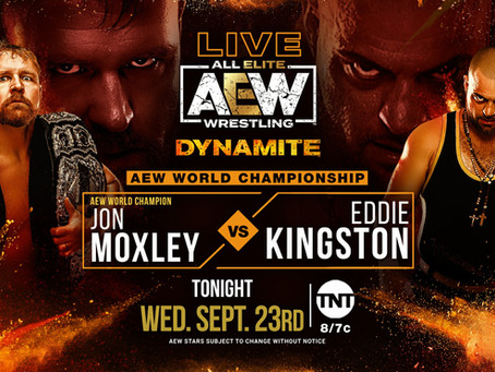 AEW Dynamite Preview for September 23, 2020