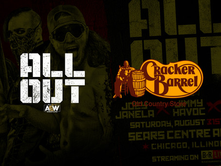 Cracker Barrel Announced As Presenting Match Sponsor For All Out