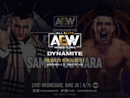 AEW Dynamite Results for June 30, 2021