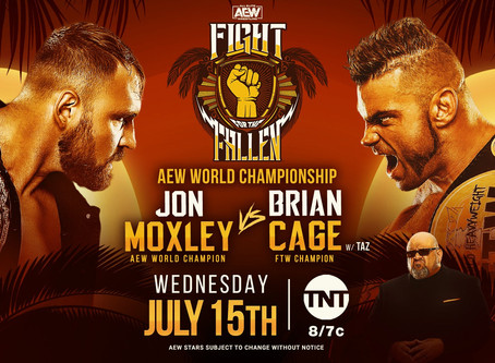 AEW Fight For The Fallen Preview for July 15, 2020