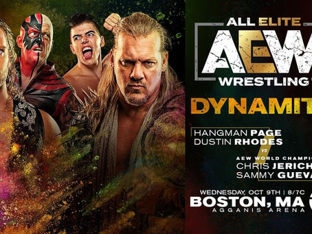 AEW Dynamite Preview for October 9th