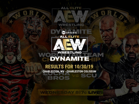 AEW DYNAMITE Results October 30, 2019