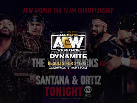 AEW Dynamite Results for February 17, 2021
