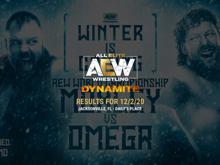 AEW Dynamite Results for December 2, 2020