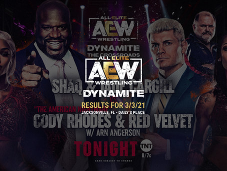 AEW Dynamite Results for March 3, 2021