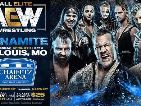 AEW DYNAMITE Coming To St. Louis April 8th