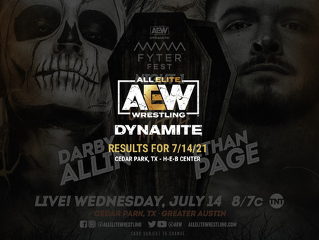 AEW Dynamite Results for July 14, 2021