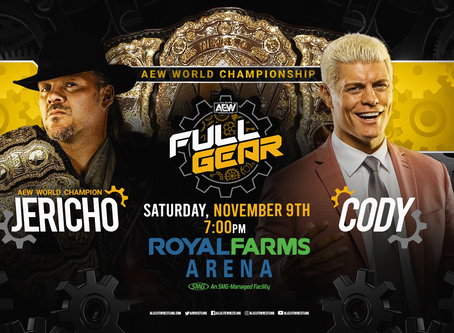 AEW Brings in Three Judges for the World Championship Title Match at FULL GEAR PPV