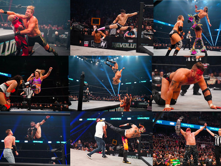 Photos: Best Moments From AEW Revolution