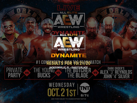 AEW Dynamite Results for October 21, 2020