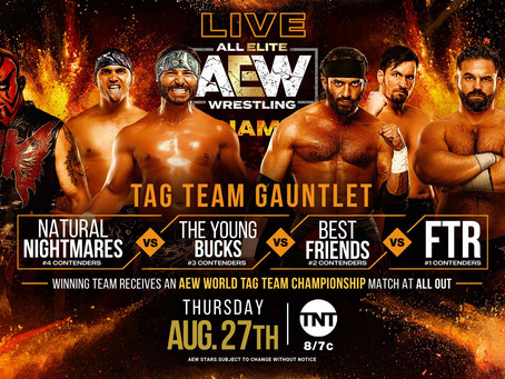 AEW Dynamite Preview for August 27th, 2020