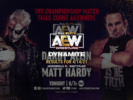 AEW Dynamite Results for April 14, 2021