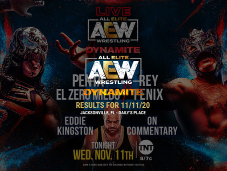 AEW Dynamite Results for November 11, 2020