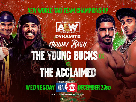 AEW Dynamite Holiday Bash Preview for December 23, 2020