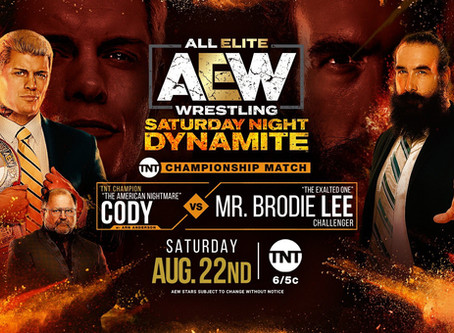 AEW Dynamite Preview for August 22, 2020