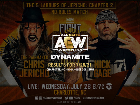 AEW Dynamite Results for July 28, 2021