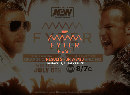 AEW DYNAMITE (FYTER FEST: NIGHT 2) Results for July 8th, 2020