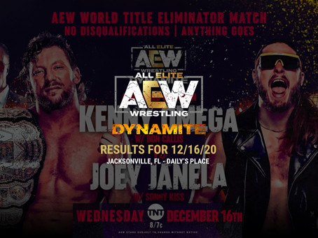 AEW Dynamite Results for December 16, 2020