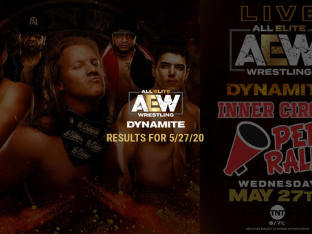 AEW DYNAMITE Results for May 27, 2020