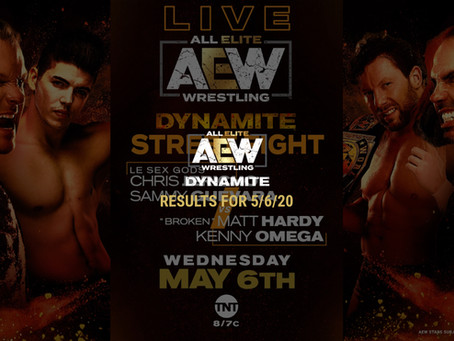 AEW DYNAMITE Results for May 6, 2020