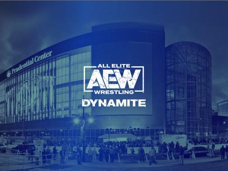 AEW Dynamite Live Event Schedule Update
